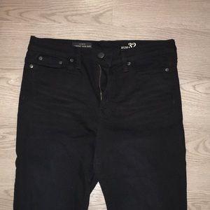 J.crew high rise Black Jeans size 32